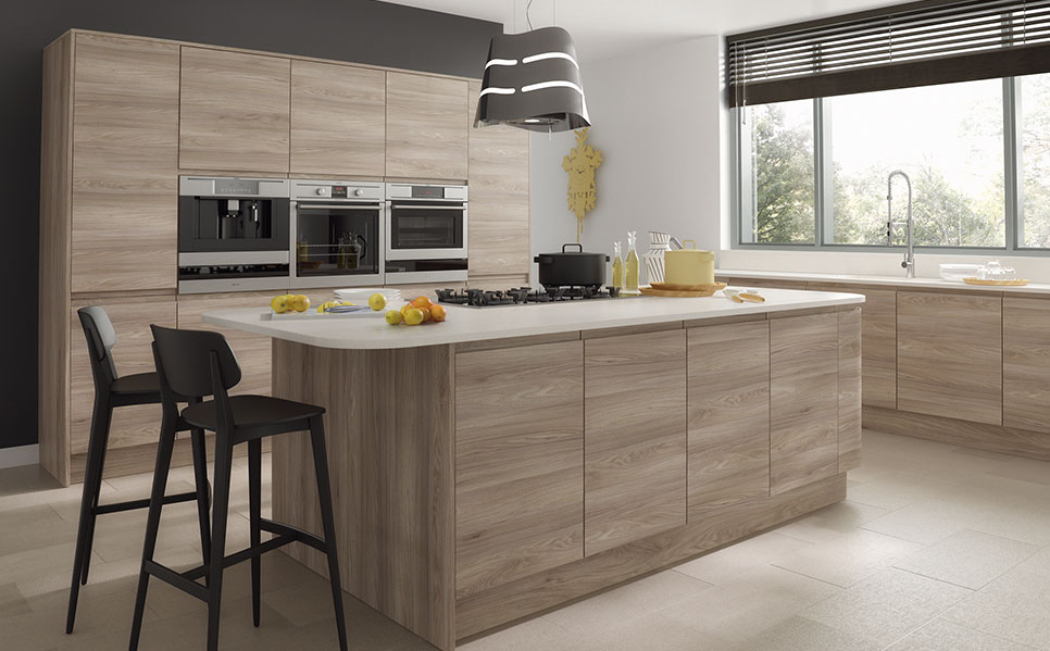 7- Handle-Less Kitchens