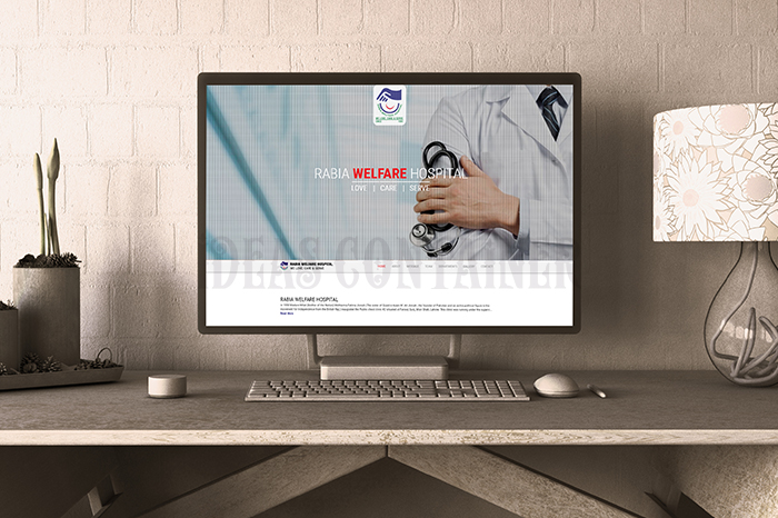 Rabia-Welfare-Hospital-Website